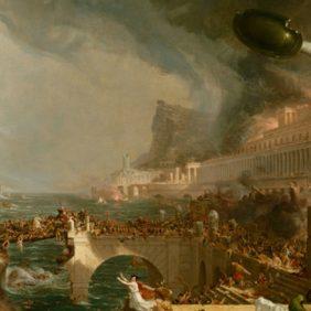 Het einde van het Romeinse Rijk en de antieke beschaving